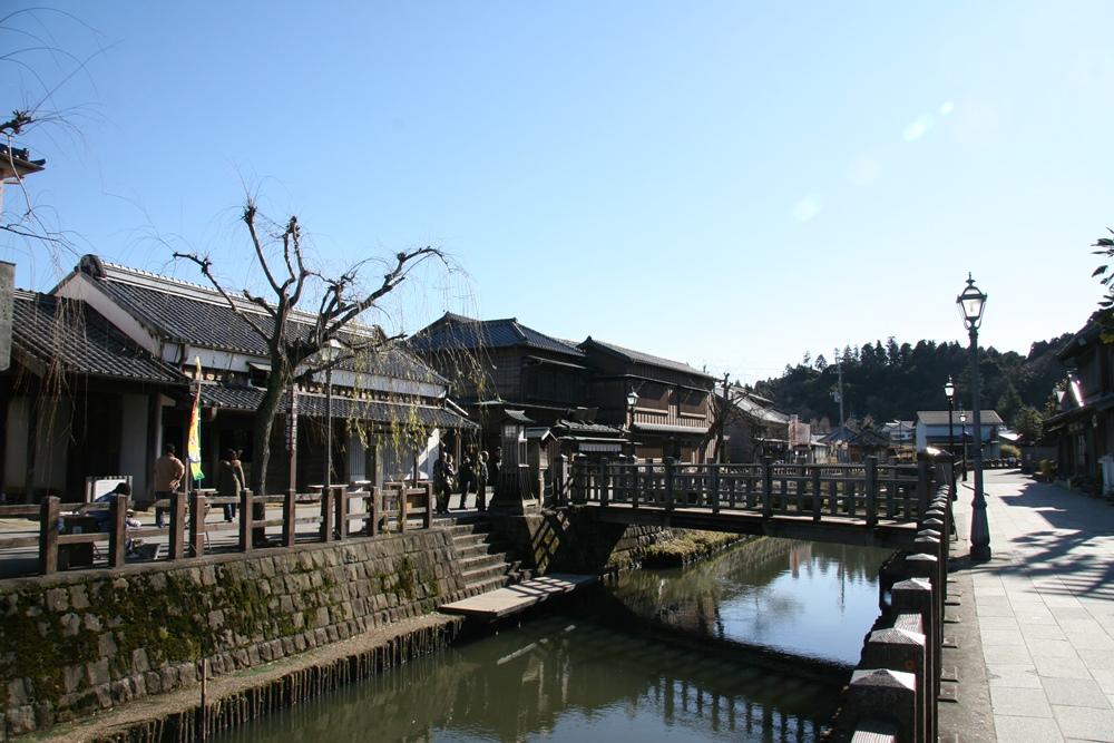 樋橋と旧宅